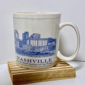 STARBUCKS City of Nashville Mug